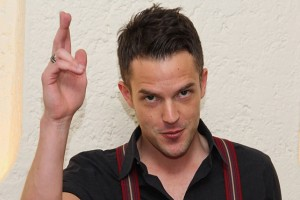 Brandon Flowers … 'People become reliant on coffee.'