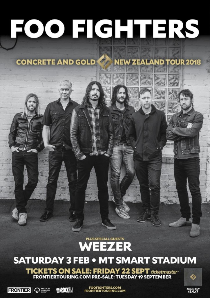 FooFightersLiveinNZ+Poster